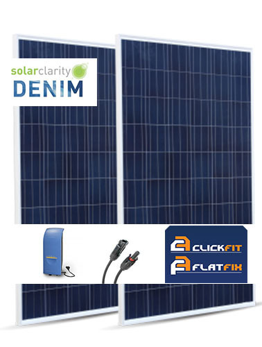 3 zonnepanelen solarclarity doe het zelf pakket 780 wp duurzame. Black Bedroom Furniture Sets. Home Design Ideas